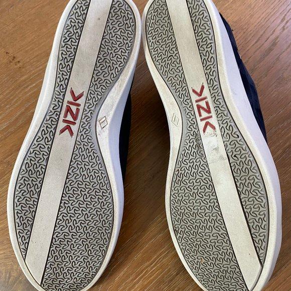 Details about  /Kizik Women/'s Miami Rebound Heel Slip On Sneakers Navy Suede